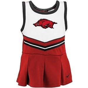 Arkansas Razorbacks Infant Nike Cheerleader Dress (24 Months)