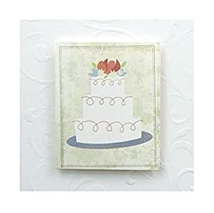 Wedding Gift Card Amazon : Amazon.com: Karen Foster Design Gift Tag Card, Wedding Cake, 12 12