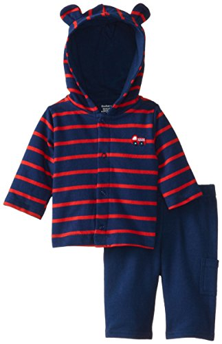 Gerber Baby Boys Newborn Hooded Cardigan and