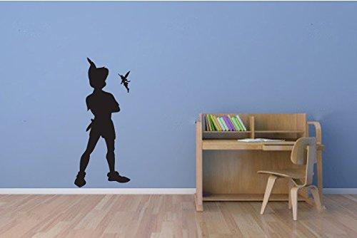 Sticker-mural-en-vinyle-et-Peter-Pan-Fe-Clochette-Cuisine