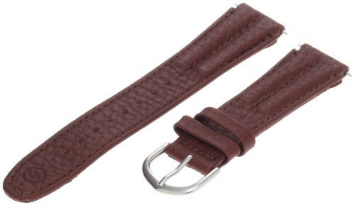 Timex Men's Q7B797 Expedition Genuine Leather Sport 18mm Brown Replacement Watchband