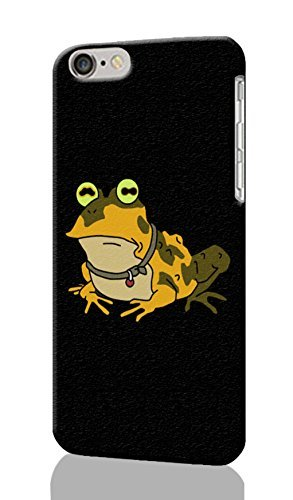 """Futurama Hypnotoad Pattern Image - Protective 3d Rough Case Cover - Hard Plastic 3D Case - For iPhone 6 Plus- 5.5"""" inches"""