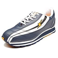 Sparx Mens Navy Blue and White Outdoor Multisport Training Shoes - 6 UK