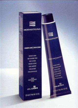 Elgon Professional Syling & Moda Cosmetic Hair Color Cream Dye- Dark Brown 3