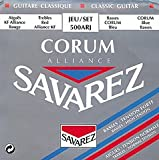 Savarez 500 ARJ Corum Alliance Konzertgitarre, Diskant normal/Bass high tension