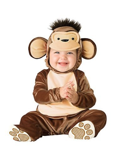 Costumes For All Occasions Ic16002T Mischievous Monkey Todd 18-24