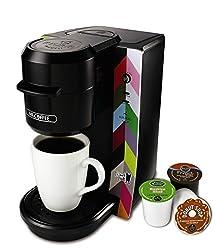 Mr. Coffee BVMC-KG2FB Single Serve Coffee Maker, French Bull Design, Multicolored made by Mr. Coffee
