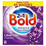Bold 2 in 1 Lavender & Camomile Washing Powder 45 Washes 2.6kg