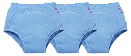 Bambino Mio Potty Training Pants Mixed Pack, Blue, 18-24 Months, 3 Count - 1