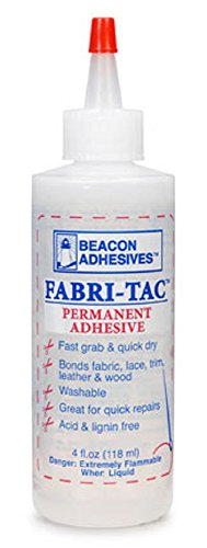 Fabri-Tac Permanent Adhesive-4 Ounce