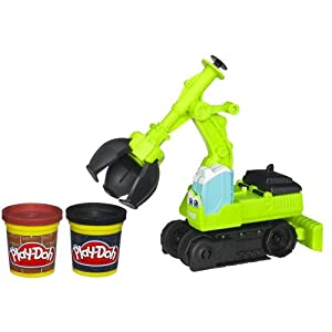 Play-Doh Diggin' Rigs Tonka Chuck and Friends Chomper The Excavator Playset
