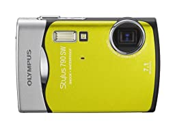 Olympus Stylus 790SW 7.1MP Waterproof Digital Camera with Dual Image Stabilized 3x Optical Zoom (Lime)