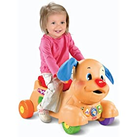 Buy Fisher-Price Laugh and Learn Stride-to-Ride Puppy by Fisher-Price