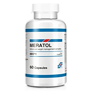 Meratol Advanced Weight Management Diet and Weight Loss Supplement - 60 Capsules (1 Month Supply)