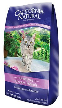 Detail image California Natural Grain Free Chicken Formula Cat & Kitten Food - 5 lb