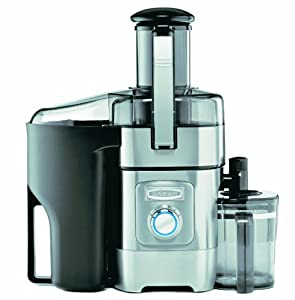 Cuisinart Die Cast and Stainless Steel Housing Fruit/Vegetable Juice Extractor