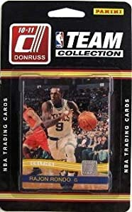 2010 2011 Boston Celtics Panini Donruss Basketball Factory Sealed 11 Card Team Set.... by Factory