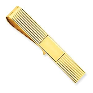 14k Tie Bar/ Money Clip