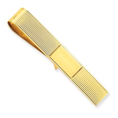 14k Tie Bar/ Money Clip