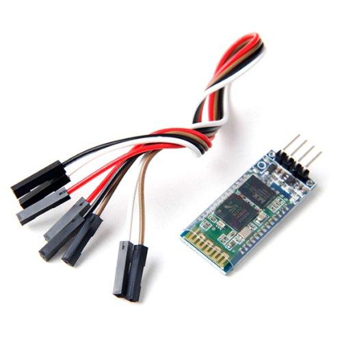 Wireless Serial 4 Pin Bluetooth Rf Transceiver Module Hc-06 Rs232