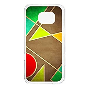 a AND b Designer Printed Mobile Back Cover / Back Case For Samsung Galaxy S6 Edge (SG_S6Edge_2450)