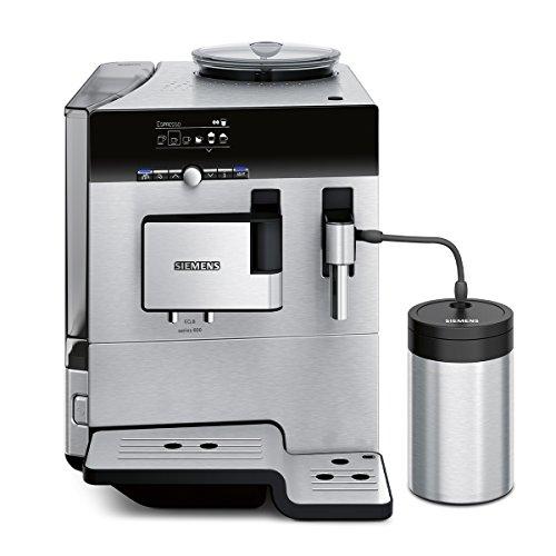 Siemens TE806501DE Kaffeevollautomat EQ.8 series 600 (Cappuccinatore) Edelstahl-Front und -gehäuse thumbnail