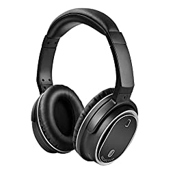 ISELECTOR BNC80 Wireless Bluetooth Over Ear Headphones with Active Noise Cancelling for Travel