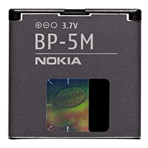 Nokia Battery Bp-5m Bp5m 8600 6220 6510 7390 6110 5700 6290 6500 5610
