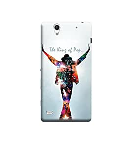 Ebby Premium Printed Back Case Cover With Full protection For Sony Xperia C4 (Designer Case)