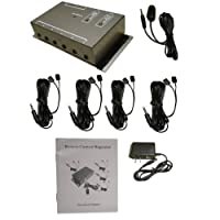 BAFX Products (TM) - IR Repeater - Remote control extender Kit - Operate 1 to 8 devices! OR more!