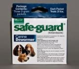 Durvet Intervet Safeguard Dog Wormer Blue 2 Gram – 001-004108