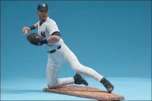 マクファーレントイズ MLBフィギュア シリーズ2 デレク・ジーター/ニューヨーク・ヤンキース