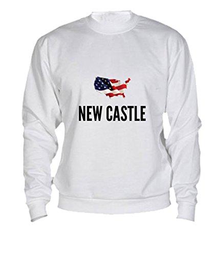 Felpa New castle city White