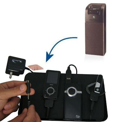 Unique Gomadic 4-Port Charging Station for the Sony Ericsson HCB-105 - Charge four devices with TipExchange Technology