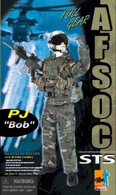 "Buy Low Price Dragon Models 1/6 Dragon Models AFSOC PJ ""Bob"" (Air Force Special Operation Command) Figure (B002I90DL2)"