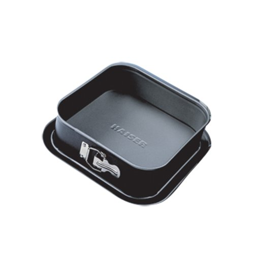 Kaiser Bakeware Noblesse 9-Inch Square Springform Pan 