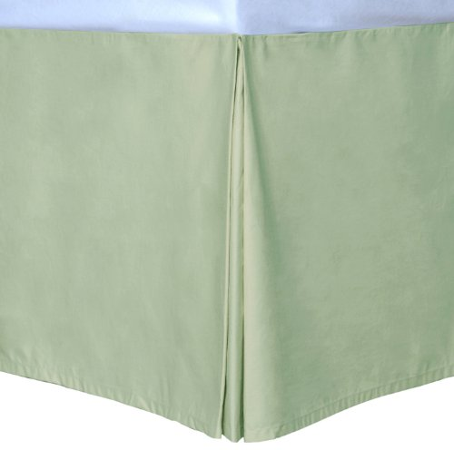 Sage California King Cottonloft Colors Bed Skirt front-573157