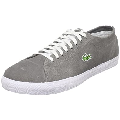 Lacoste Men's Marcel L Sneaker,Dark Grey/White,8 M US