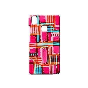 BLUEDIO Designer Printed Back case cover for VIVO V3 - G0013