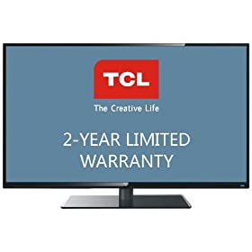 TCL LE43FHDF3300TA 43-Inch 1080p LED HDTV with 2-Year Limited Warranty (Black)