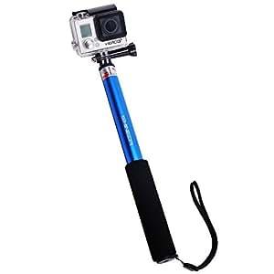 shineda sd 208 telescopic gopro selfie stick pole for gopro hero. Black Bedroom Furniture Sets. Home Design Ideas