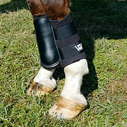 WOOF WEAR Sport Brushing Boots - Size:Small Color:Black/Purple