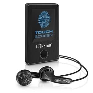 TrekStor 78724 i.Beat sense MP3 Player 8 GB (4.6 cm (1.8 Zoll) TFT Display, USB 2.0) schwarz
