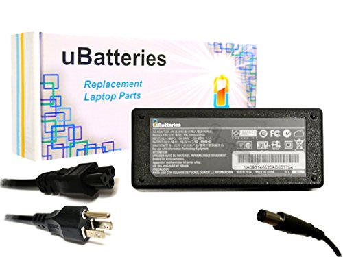 UBatteries AC Adapter Charger HP Pavilion dv7-6168nr - 18.5V, 65W