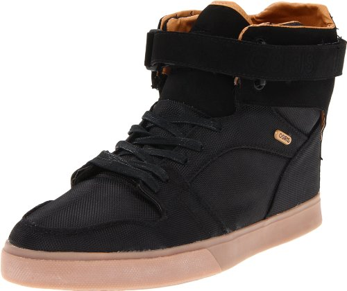 Osiris Men's Rhyme RMX Skate Shoe,Black/Doe/Gum,10.5 M US