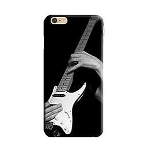 Aurmen High Quality Printed Designer Back Case Cover For I Phone 6 (blackandwhiteguitor)