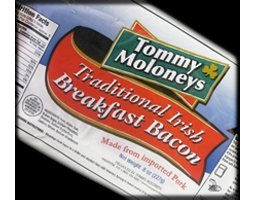 Irish Rashers (Sliced Breakfast Bacon) 5 packs x 8 oz. each