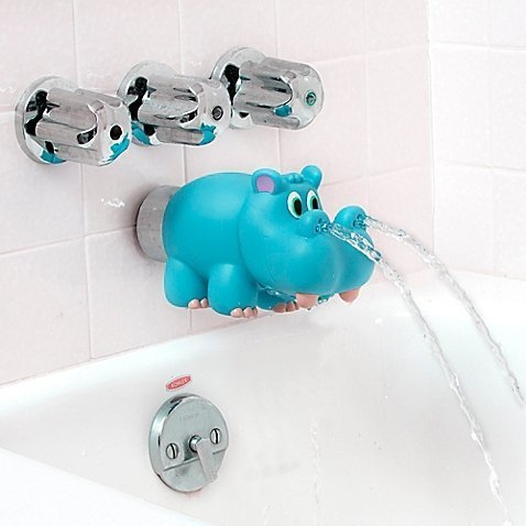Nuby Hippo Water Spout Cover in Blue (Water Spout Cover compare prices)
