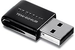 TRENDnet Wireless N 300 Mbps Mini USB 2.0 Adapter, TEW-624UB