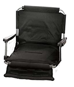 Picnic Plus Wide Width Stadium Seat - Black One Size